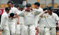 Australia unchanged for second Pakistan Test