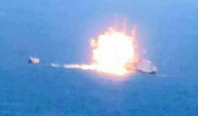 Seven Pakistanis killed in rocket attack on cargo ship off Yemen coast