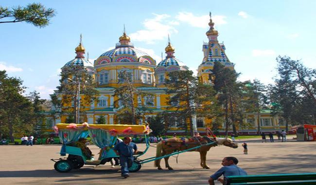 TURISM IN KAZAKHSTAN