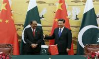 Chinese President wishes President Mamnoon a happy birthday