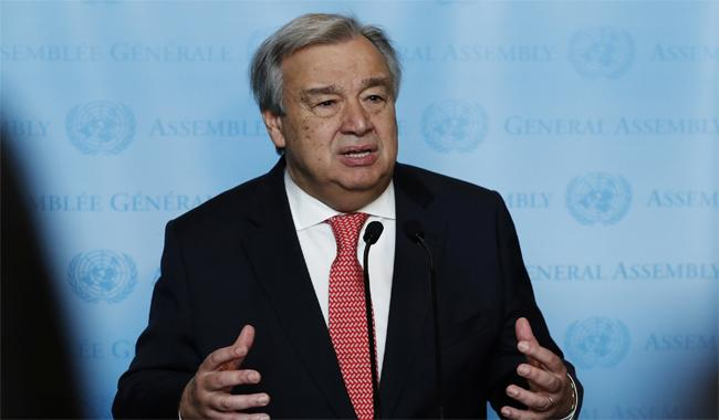 Trump speaks with new UN chief Guterres
