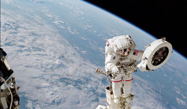 Two US astronauts on spacewalk to upgrade ISS