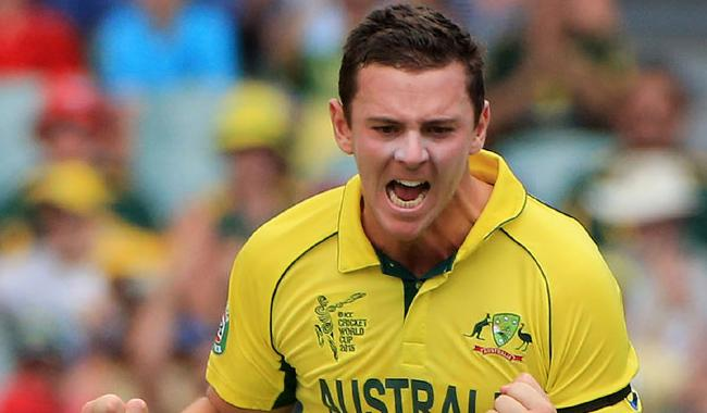 Hazlewood rested for first Pakistan ODI series