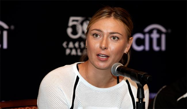 Sharapova to make comeback after doping ban