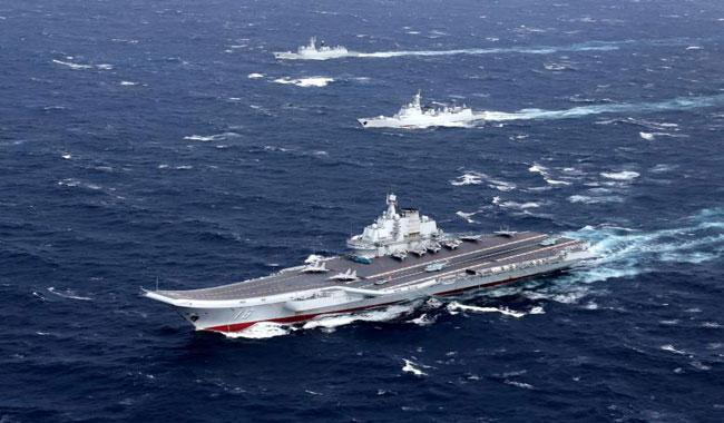 China´s aircraft carrier enters Taiwan Strait: defence ministry