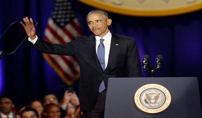 Obama warns of democratic test, ´we rise or fall as one´