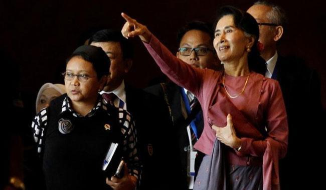 Myanmar's Suu Kyi sends envoy to Bangladesh as Rohingya crisis deepens