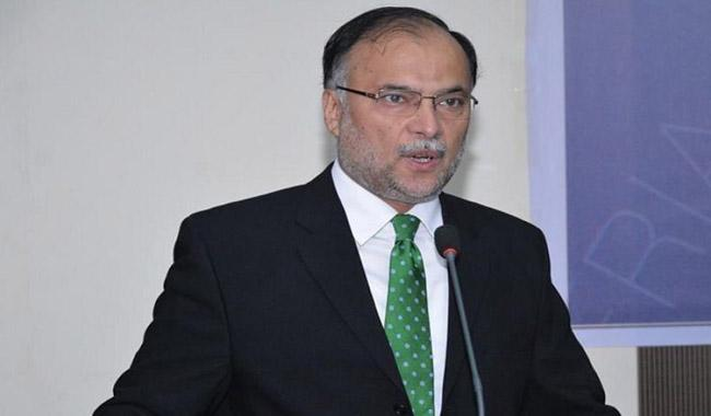 No Change in CPEC western route: Ahsan Iqbal