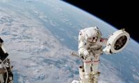 French, US astronauts start power upgrade spacewalk