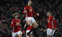 Manchester United's Ibrahimovic strikes late to rescue Liverpool draw