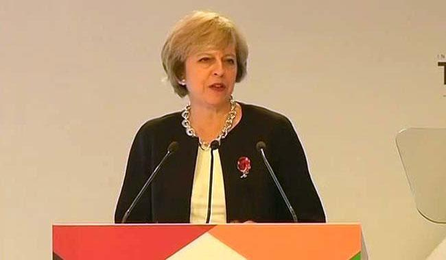 May puts Britain on course for ´hard´ Brexit