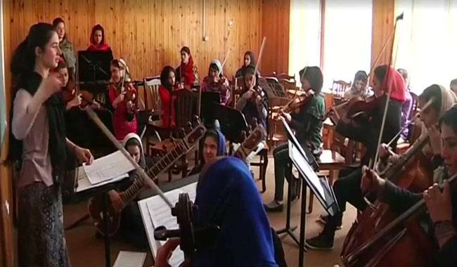 Afghanistan´s first female orchestra set to take Davos