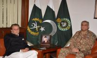 Gen. Bajwa, AJK PM discuss security situation along LoC