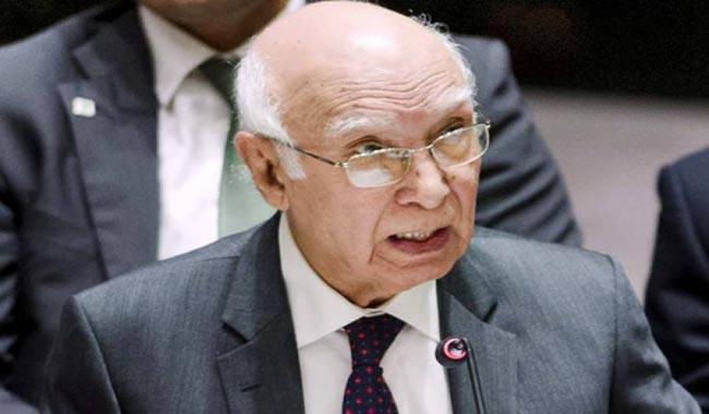 Muslim Ummah must play active role to help Rohingya Muslims: Sartaj Aziz