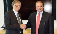 Bill Gates meets PM Nawaz, lauds Pakistan's efforts against polio