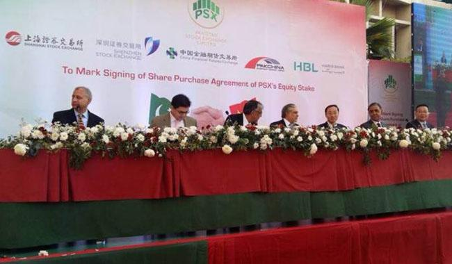 PSX, Chinese consortium sign equity share purchase agreement