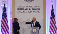 Trump begins inauguration day activities with church service