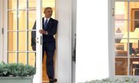 Barack Obama leaves Oval Office for last time