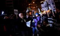 Vandalism erupts at anti-Trump protest