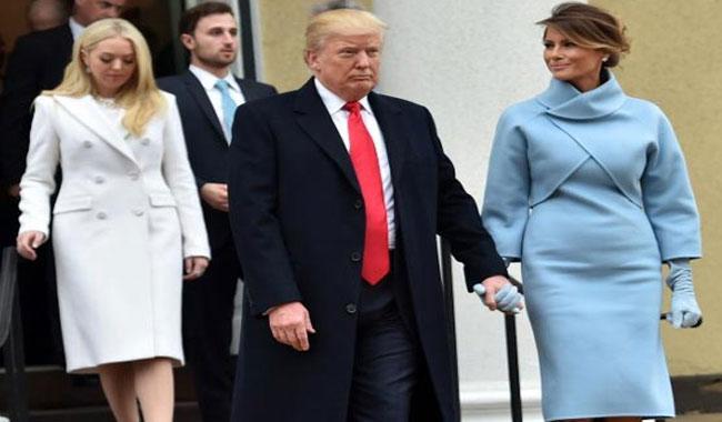Melania Trump channels Jackie O in Ralph Lauren