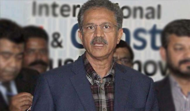 Mayor urges CM Sindh to help solve Karachi issues