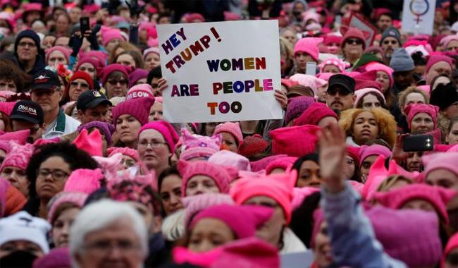 Image result for women's march against trump