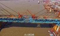 In Picture: China builds world's longest heavy-duty steel arch bridge
