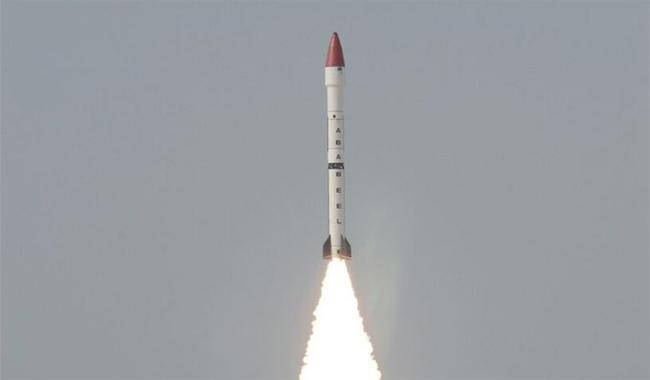 Pakistan successfully conducts test of ballistic missile 'Ababeel'