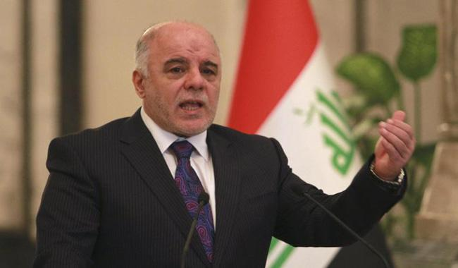 PM Abadi says Iraq´s oil is for Iraqis, in reaction to Trump