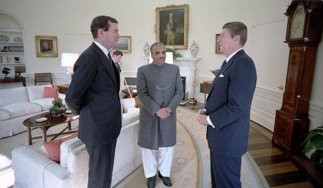 Zia promised Reagan Pakistan would not build nukes: CIA documents