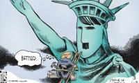 Muslim ban: 10 cartoons that slam Trump for his racism