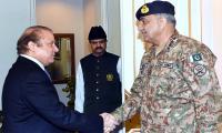 Army Chief, PM Nawaz discuss national security