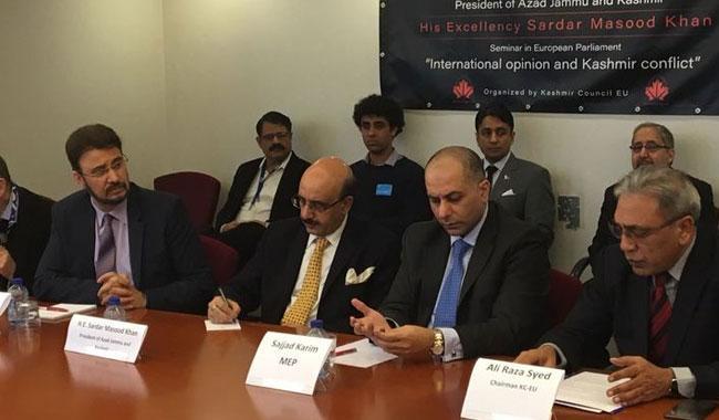 UNSC should conduct urgent debate on Kashmir issue: AJK President