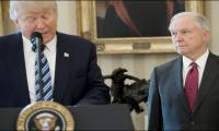 Trump declares ´new era of justice,´ swears in attorney general