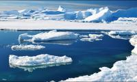 Sea ice around Antarctica hits record low