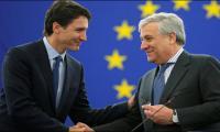 Trudeau says Canada, EU must lead world economy
