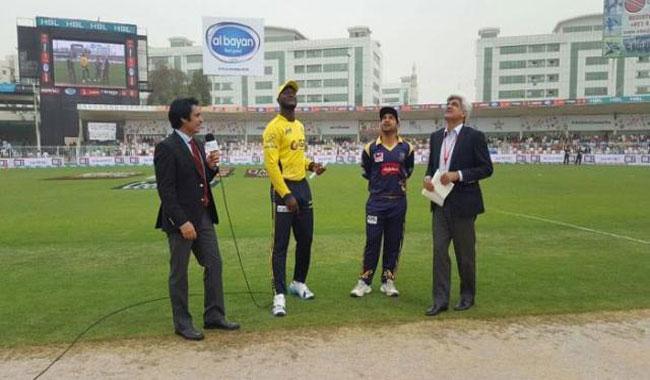 Quetta Gladiators win toss, opt to field against Peshawar Zalmi