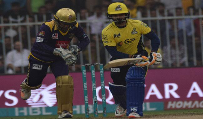 Quetta Gladiators set 118 by Peshawar Zalmi in rain reduced  T20