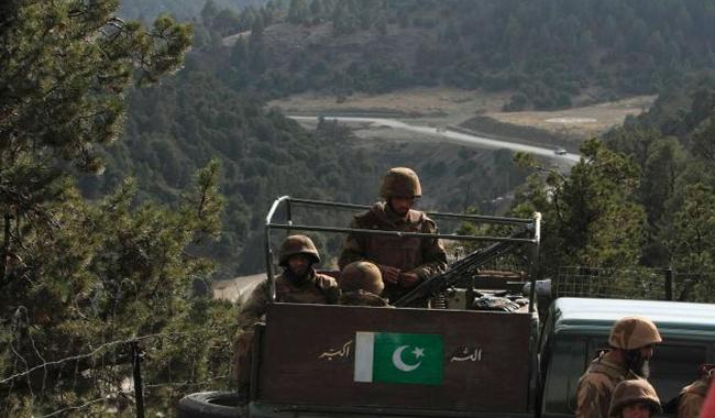 Pak army destroys militant hideouts in Afghanistan in cross border attacks