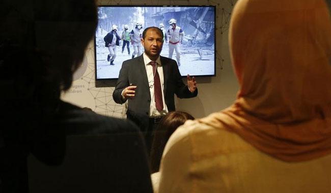 Syrian 'White Helmets' makers get visas for Oscar travel