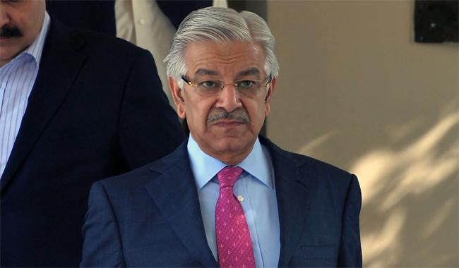 Afghan soil being used for terrorism in Pakistan: Khawaja Asif