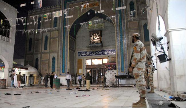 Alleged facilitator of Sehwan suicide bomber arrested