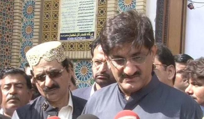 CM Sindh visits Lal Shahbaz Qalandar shrine in Sehwan