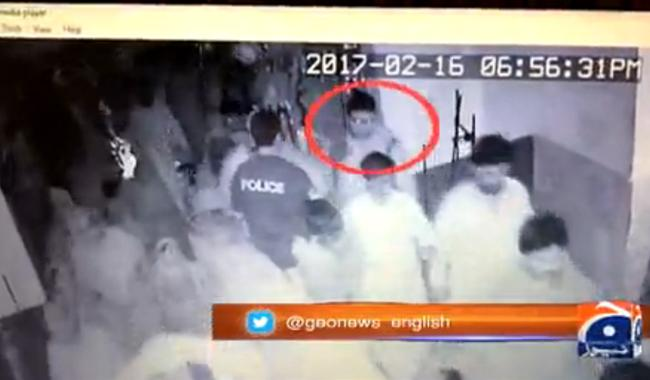CCTV footage confirms Sehwan bomber bypassed security check