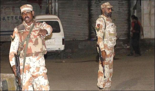 Rangers kill seven terrorists in Karachi