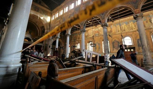 Islamic State posts video of man it says was Egypt church bomber