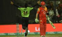 Lahore Qalandars restrict Islamabad United to 145-8