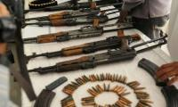 Rangers recover huge quantity of arms in Landhi