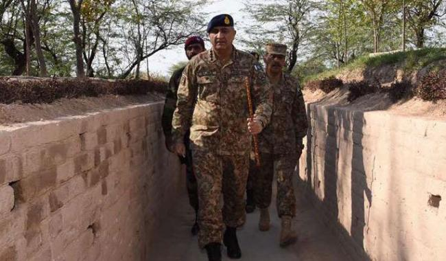 Gen Bajwa says Pak army fully aware of Indian support to terrorism