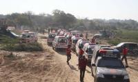 Police launch operation near Karachi Central Jail